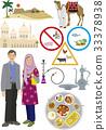 穆斯林男女服裝和物品 33378938