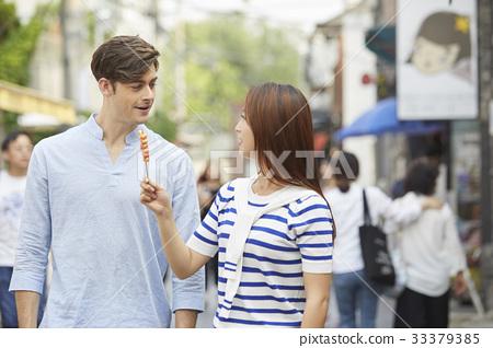 떡꼬치,커플,종로구,서울 33379385
