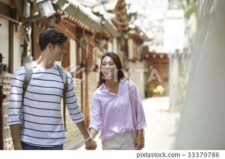 커플,북촌한옥마을,종로구,서울 33379786