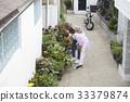 가족, 꽃, 남자 33379874