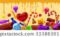 sweets, vector, colorful 33386301