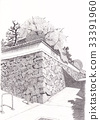 A landscape with stone walls 33391960
