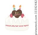 생일케이크, 생일케익, 생일 케익 33392482