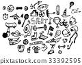 Business doodles sketch eps10 vector 33392595