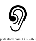 Hearing aid icon 33395463