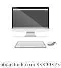 computer, display, lcd 33399325