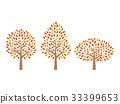 紅葉した木 33399653