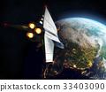空间 穿梭班机 宇宙飞船 33403090