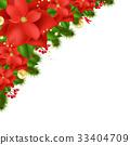 Red Poinsettia 33404709