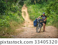 bicycle, jungle, path 33405320