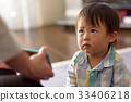스마트 폰을 보는 아이 33406218