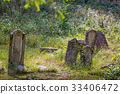 Old abandoned Jewish cemetery 33406472