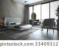 单人沙发 安乐椅 床 33409312