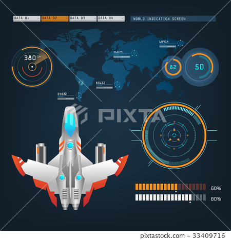 spaceships aircraft with future sight action mode 33409716