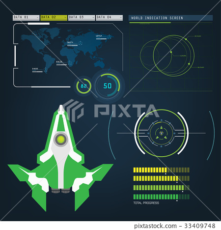 spaceships aircraft with future sight action mode 33409748