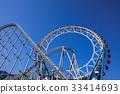 ferris wheel, rollercoaster, amusement 33414693