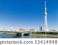 도쿄 스카이 트리가있는 풍경 33414948
