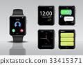 Smart electronic intelligence watch. 33415371