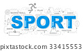 Sport icons illustration graphic design.vector 33415553