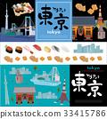 โฆษณา,โตเกียว,ไอคอน 33415786