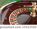 Casino roulette background 33422583