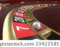 Casino roulette background 33422585