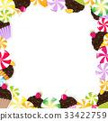 蛋糕 冰糖 食物 33422759