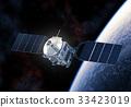 Space Satellite Orbiting Planet Earth 33423019