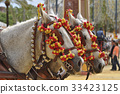 Horses decked in fair, Jerez de la Frontera 33423125