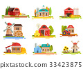 Farm Flat Scenery Collection 33423875