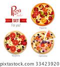 Pizza In Assortment Set 33423920