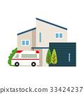 구급차, 응급차량, 외딴 집 33424237