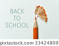pencil, shavings and text back to school 33424809