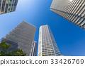 塔公寓和藍天 33426769