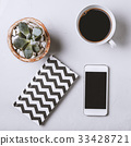 กาแฟ,พืชอวบน้ำ,ขาว 33428721