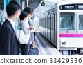 นักธุรกิจ, รถไฟ, บ้าน, รอความร่วมมือยิง: Keio Electric Railway Co. , Ltd. 33429536
