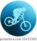 bicycle, vector, illustration 33433383