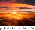 狗 狗狗 富士山 33435754