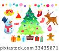 矢量 聖誕時節 聖誕節 33435871