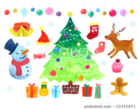 聖誕節例證 33435871