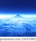 狗 狗狗 富士山 33435985