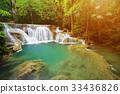 Huay Mae Kamin waterfall  33436826