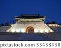 야경,창룡문,수원화성,수원시,경기도 33438438