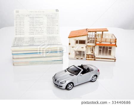 Passbook, housing, model 33440686