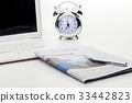 노트북, 비즈니스, 신문 33442823