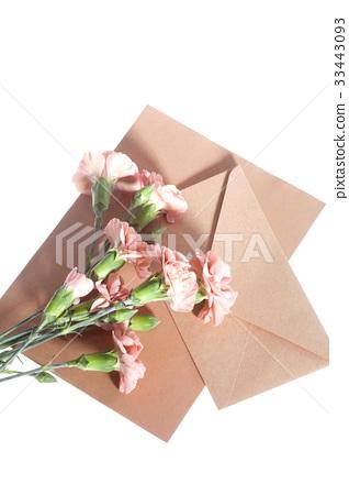 꽃,카네이션,봉투 33443093