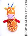 長頸鹿 玩偶 娃娃 33443168