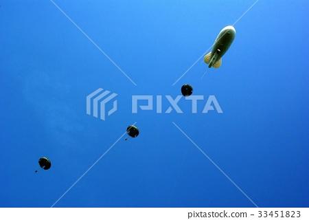 Parachute, airship, 33451823