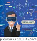 虚拟 商业 商务 33452426