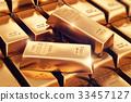 Gold ingots 33457127
